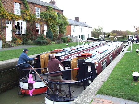Canal Boats designed to navigate the canals of Great Britain