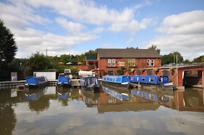 Boats at Anderton Marina